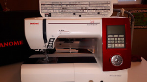 Janome Memory Craft 7700 QCP Sewing Machine