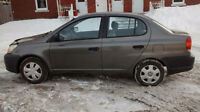 2003 Toyota Echo autom 1,5 litres, particulier