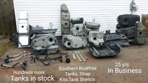 Southern Rustfree Gas Tanks and Accessories.