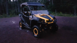 2012 Can Am Commander X 1000.  Low KM. Well Maintained.