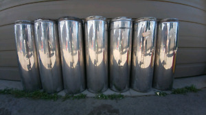 8 inch Insulated stove pipe