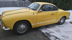 There's cool and then there's 1969 Karmann Ghia cool.