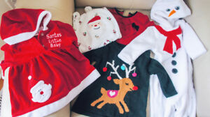 Santa Baby - 5 Pieces for First Christmas (3-6M)
