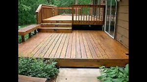 Contact Deck Pros to have your Deck / Fence Renewed
