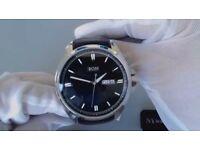 Black Hugo Boss Men's watch