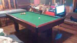 Pool table 8' by4'