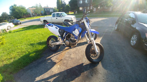 Yamaha WR 400 Supermoto Custom