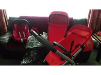 QUINNY BUZZ PRAM BUNDLE