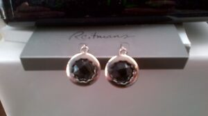 Black Pierced Earings Kitchener / Waterloo Kitchener Area image 1