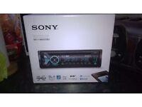 Sony DAB car radio