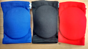 Elbow Pads for Muay Thai & MMA - Black, Red or Blue