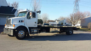 sterling 7500 depanneuse towing remorqueuse plateforme
