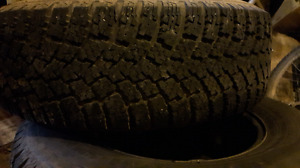 Truck winter tires with rims. Gmc/chevy