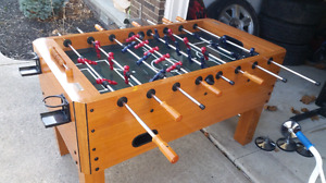 "Solid Foosball Table - ""Harvard"" brand - Good Condition"