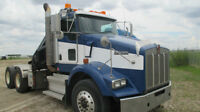 2009 Kenworth T800 with Hiab 175-5 Crane