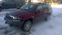 02 Grand Cherokee 4X4 (ONLY 162KM 6900 OBO) Solid & Priced2Sell