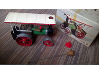 Mamod Steam traction engine, Boxed Excellent.