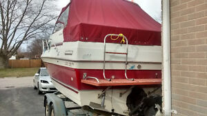 22 foot sunrunner and good tandem trailer