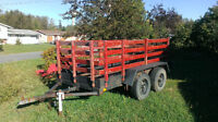 5 X 10 Utility Trailer for Sale or Trade for guns