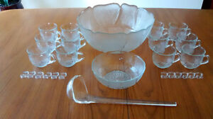 Punch Bowl Set (Brand New in Box)
