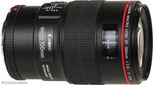 Canon 100 mm 2.8 macro lens