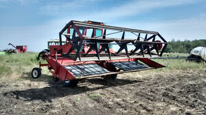 IHC 4000 gas swather Strathcona County Edmonton Area image 2