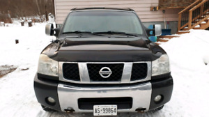 2007 nissan Titan for trade or b.o.