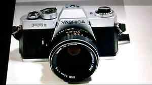 Yashica FR II 35 mm film SRR Camera.