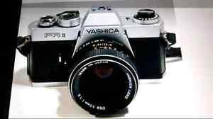 Yashica FR II 35 mm film SRR Camera.