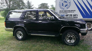 TWO 1995 Toyota 4Runners SR5 SUV's, Crossovers
