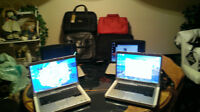 LAPTOPS AND BAGS