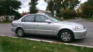 2000 Honda Civic EX-G, SAFETIED, works great.