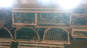 """""""For Sale New and Used PEI Lobster Traps"""" Hackett Lobster Traps"""
