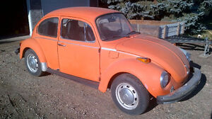 1974 VW Super Beetle