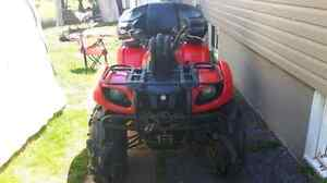 2002 yamaha grizzly 686!!!! Tons of mods