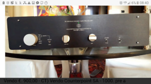 Counter Point SA-1000 Preamp tube lampe