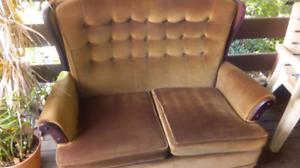 Lounge x2, good matteress.book shelf.