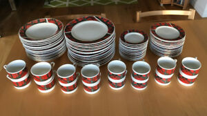 Complete Dinnerware set for 16 people, $125 or best offer!