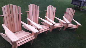 Dutch hand made muskoka chairs best around!!