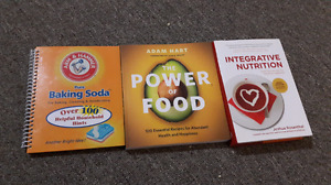 3 Healthy Living Books