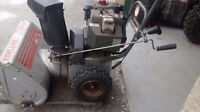 *FULLY REPAIRED CRAFTSMAN/TECUMSEH 8/24 WITH ELEC.START*