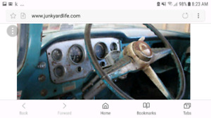 Looking for 1955-59 Chevy or hmm dash