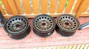 3 Three gmc Sierra 17 inch rims $70