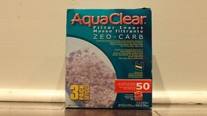 AquaClear 50 Zeo-Carb Filter Insert (Used, 2 in Stock)