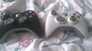 2 xbox 360 controllers (both for $30)