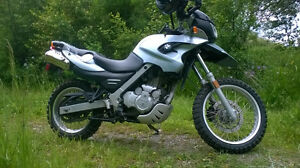 BMW GS650 ADVENTURE BIKE