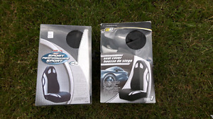 Seat covers for bucket seats