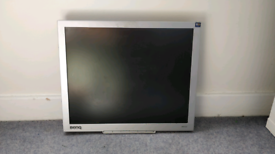 "BenQ FP91G+19"" LCD computer monitor."