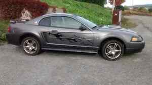 Mustang 2003 71 000kilos!