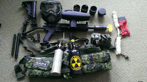 Paintball Gear Sale, A5 with upgrades